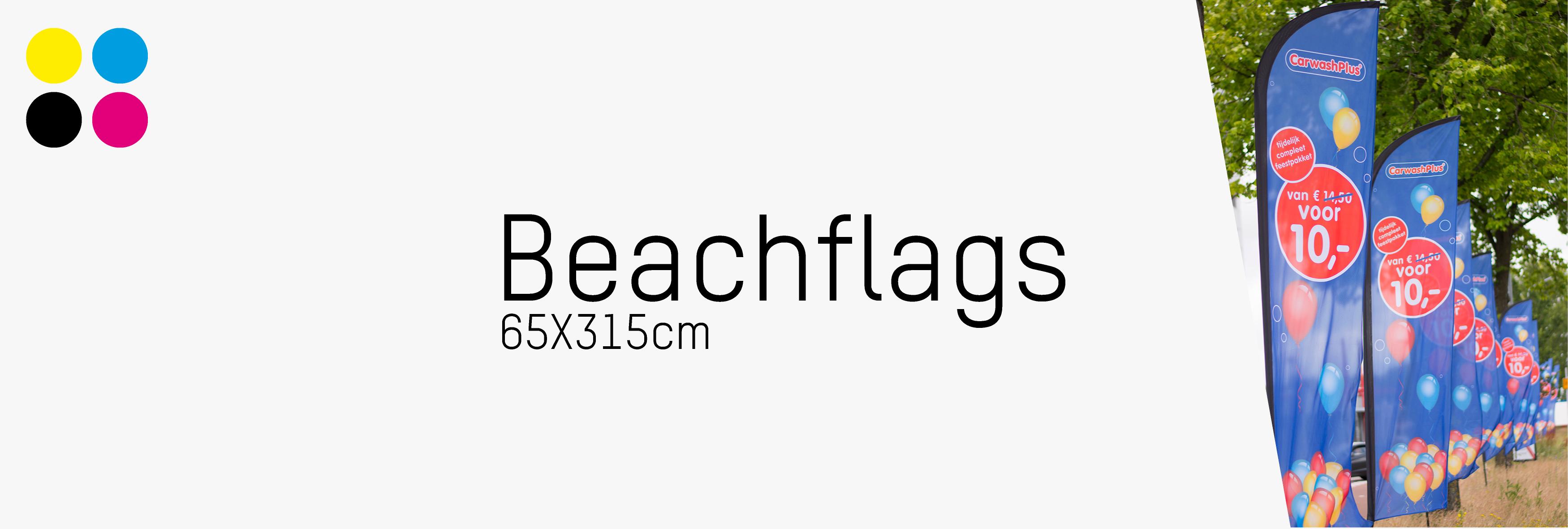 Beachvlag-65x315